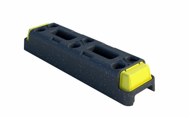 18 kg plastfod til byggepladshegn, byggehegn, mobilhegn